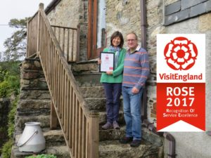 ROSE certificate for Gospenheale Barn