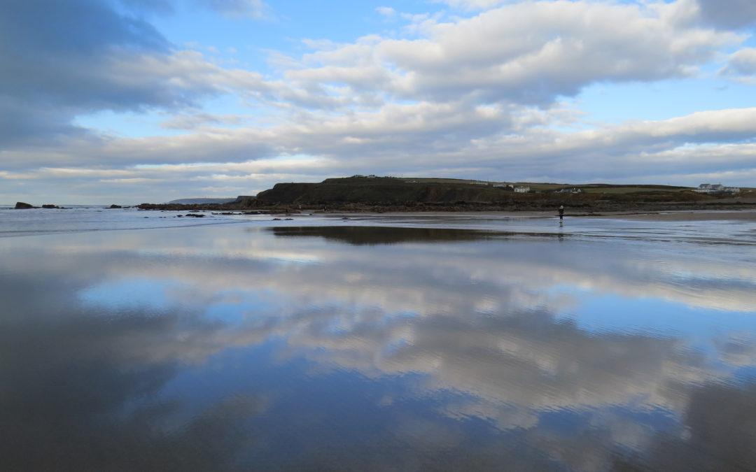 Winter trip to Widemouth Beach